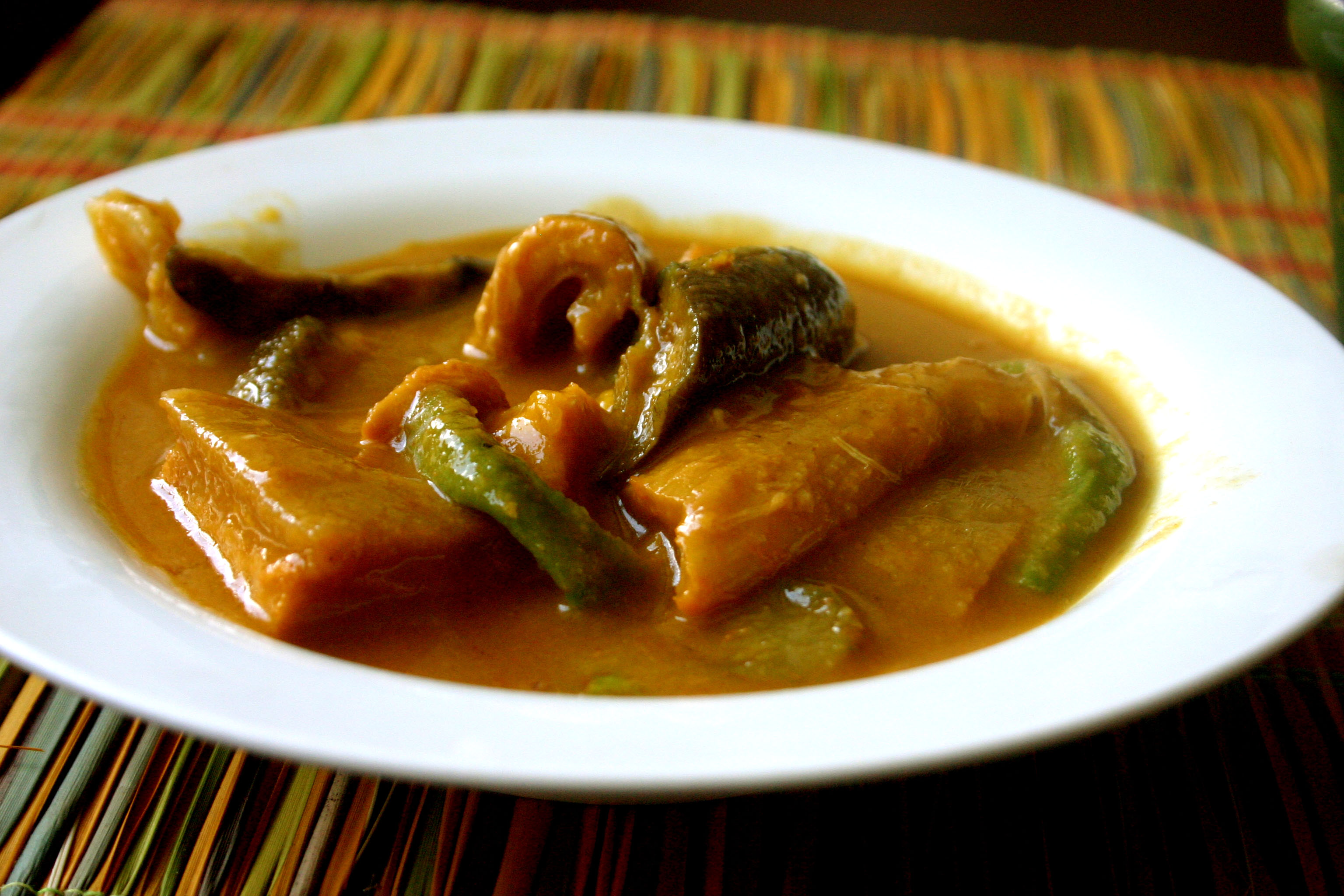 Karekare Is One Of My Favorite Feast Dishes That We Prepare In The  Philippines It Is Basically A Stew Of Beef Cooked In Peanut Butter And  Ground Rice With