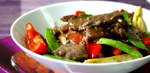 Beef Salpicao of Claudine Barretto