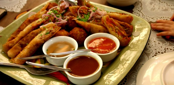 Fish Lumpia (Fish Fried Spring Rolls)