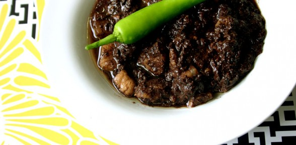 Dinuguan (Pork Blood Stew)