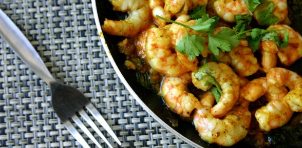 Sizzling Hilabos Hipon (Pan Fried Shrimps)